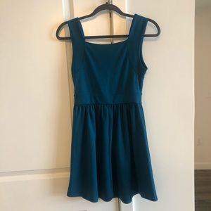 Kimchi Blue Dresses - Urban Outfitters Teal Skater Dress